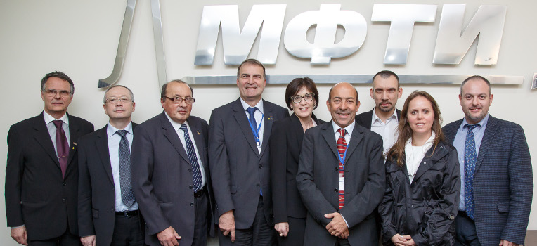 Representatives of Brazil's Leading Universities Visit MIPT