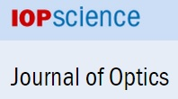 Read our new article in Journal of Optics