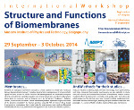 Structure and Functions of Biomembranes 2014 International Conference
