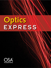Read our new article in Optics Express