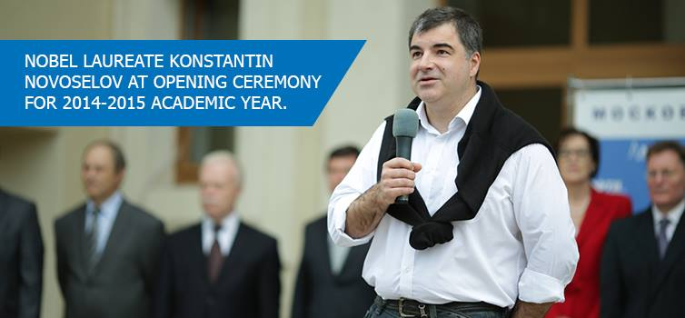 Nobel Laureate Konstantin Novoselov: Just Believe in Yourself